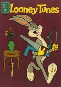 Vintage Children's magazine cover - Bugs Bunny, Novemeber